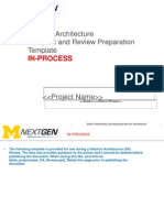 Solution Architecture Review Blueprint Preparation Template