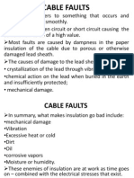 Cable Faults