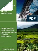 MKT - SISTEMA E GESTÃO MODERNA DE COOPERATIVAS DE AGRICULTURA FAMILIAR