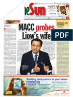 thesun 2009-10-20 page01 macc probes liows wife