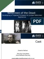 Gn Netscreen of the Dead