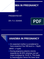 Dr. Odawa - Anaemia in Pregnancy Odw