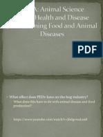 4 food and animal diseases