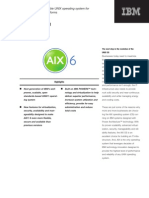 Overview of AIX 6 1