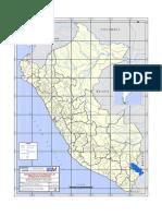 Mapa Geodinamico Del Peru Peligros Naturales Inundacion