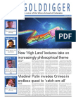 The Oredigger Issue 21 - March 31, 2014