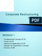 Corporate Restucturing