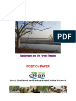 CLEAN Position Paper on the Sundarbans and the Forest People