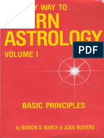 March, Marion D - The Only Way to Learn Astrology