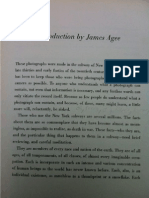 Introduccition by James Agee