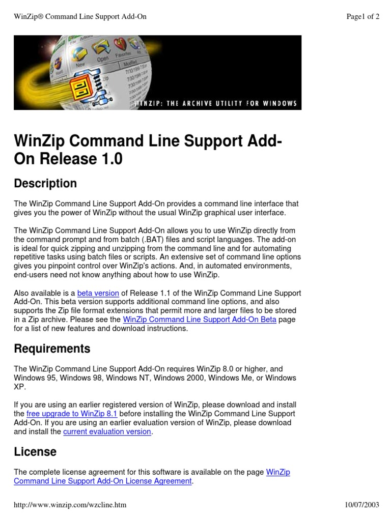 free winzip 8 download full version