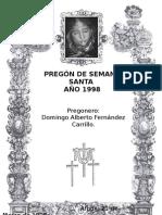 Pregón 1998