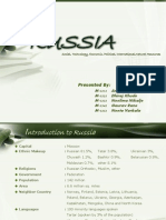 RUSSIA PESTLE ANALYSIS  Presentation Final