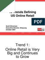 10 Trends Defining US Online Retail Oct 2007
