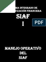 Siaf Operativo i