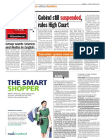 thesun 2009-10-23 page04 gobind still suspended rules high court