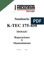 MOSAIC Maintenance K TEC Spanish
