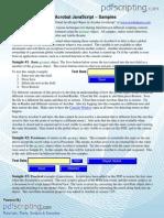 Acrobat Java Script