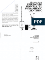 Alexandre Koyre-Estudios de historia del pensamiento cientifico.pdf