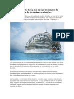 El Arca, Un Nuevo Concepto de Hotel a Prueba de Desastres Naturales