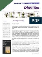 Butlletí Dins Teu_abril 2014