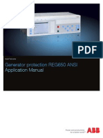 0e1f4db901f06ed78610286dbb805832 5 ABB Application Manual Generator Protection REG650 1.2 ANSI