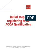 Guide - Registering for ACCA