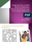 Integración De La Salud Oral En El Bienestar