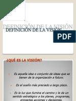 3 Definicion de La Vision