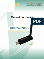 OIW-2402USG Manual Do Usuario