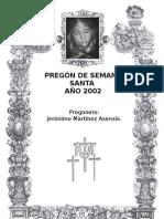 Pregón 2002