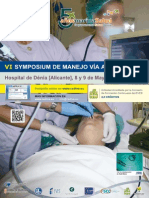 Meeting 6º Symposium in Difficutl Airway Management CEDIVA. 8th and 9th May 2014.Dénia Hospital