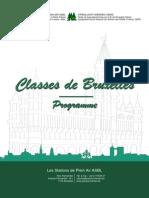 programme de classes de bruxelles bv