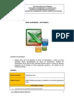 Excel Avanzado - Actividad 0