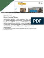 Blood in the Water - Tim Zimmermann