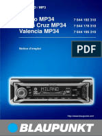 Milano Mp34 Notice Utilisation