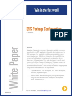SSIS Package Configurations