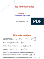 Differential EquationsOverview of Differential Equations