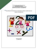 Coletanea-de-Atividades-de-Matematica 4º ANO