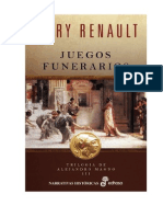 Mary Renault - Trilogía de Alejandro Magno 3 - Juegos Funerarios.rtf
