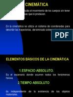 2cinematica de Una Particula(Simplificada)