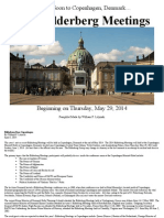 2014 Bilderberg Meetings in Copenhagen, Denmark