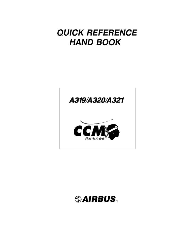 airbus a319 a320 a321 quick reference handbook rh scribd com United Airbus A320 Airbus A320 Seating Layout