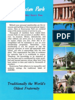 Rosicrucian Park These Facilities Serve You Brochure