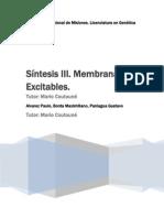Membranas excitables