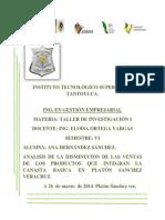 El comercio de productos de la canasta básica en el municipio de Platón Sánchez