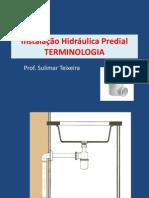 Terminologia Instalação Hidráulica Predial