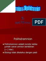Poli _ Oligohidramnion