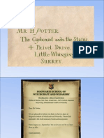 Harry Potter and the Philosopher's stone quiz + Hogwarts letter