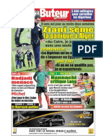 LE BUTEUR PDF du 25/10/2009